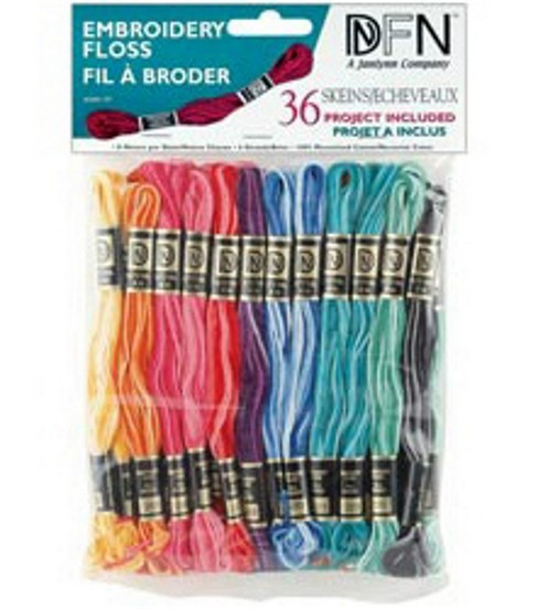 Janlynn Variegated Cotton Embroidery Floss