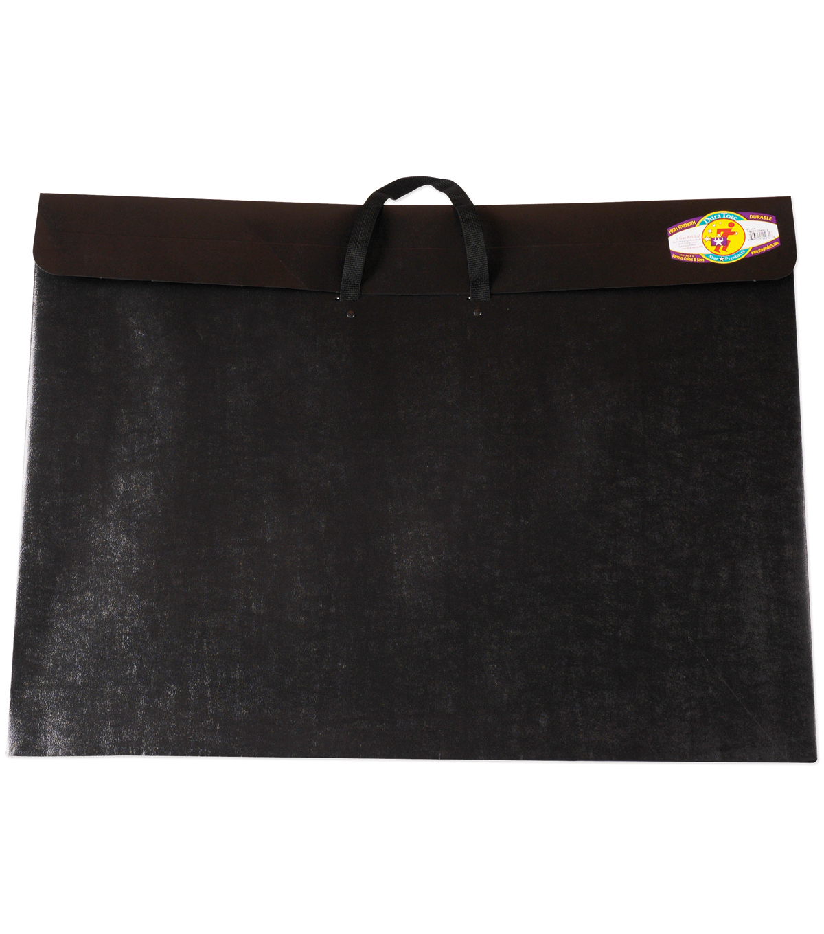 Dura-Tote Classic Poly Portfolio W/Soft Handle 23\u0022x31\u0022-Black