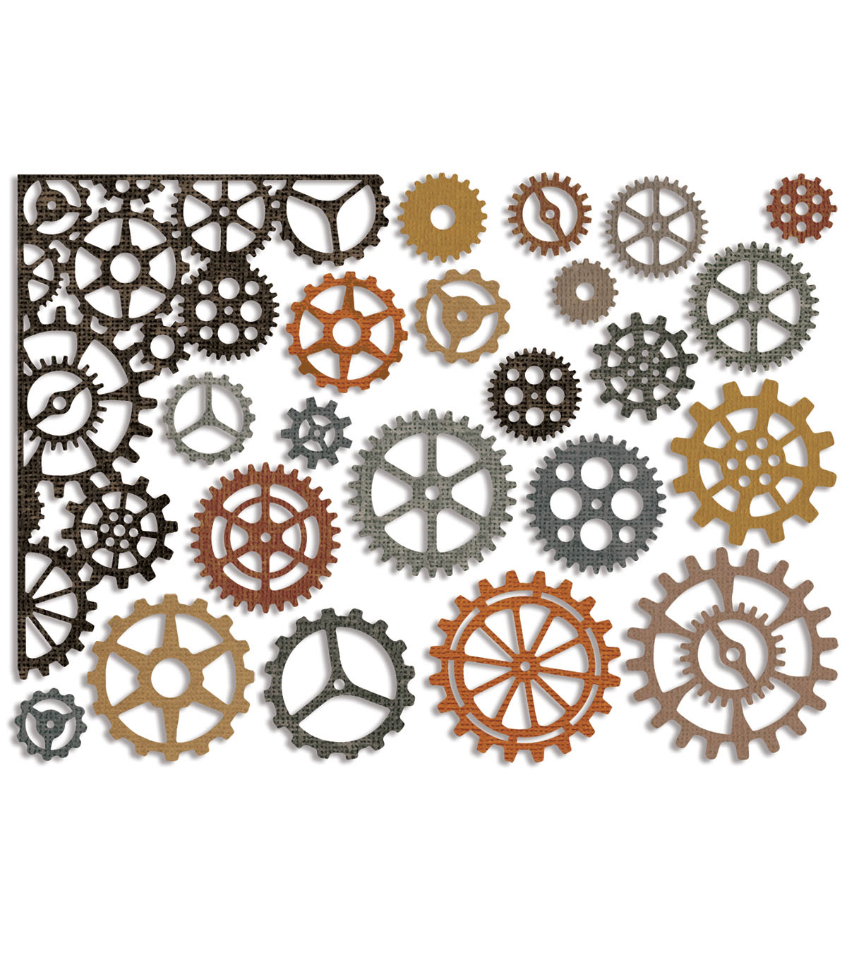 Sizzix Thinlits Tim Holtz Alterations 22 pk Dies-Gearhead