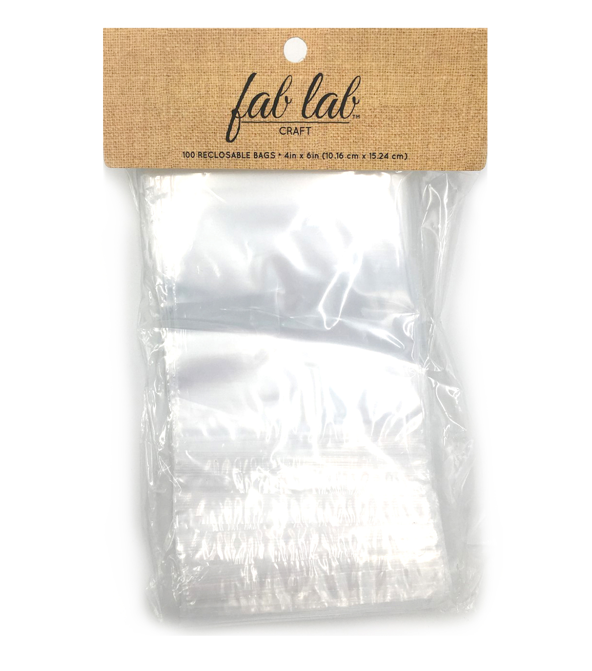 Darice Reclosable Storage Bags 4 \u0022x6\u0022-100/Pkg