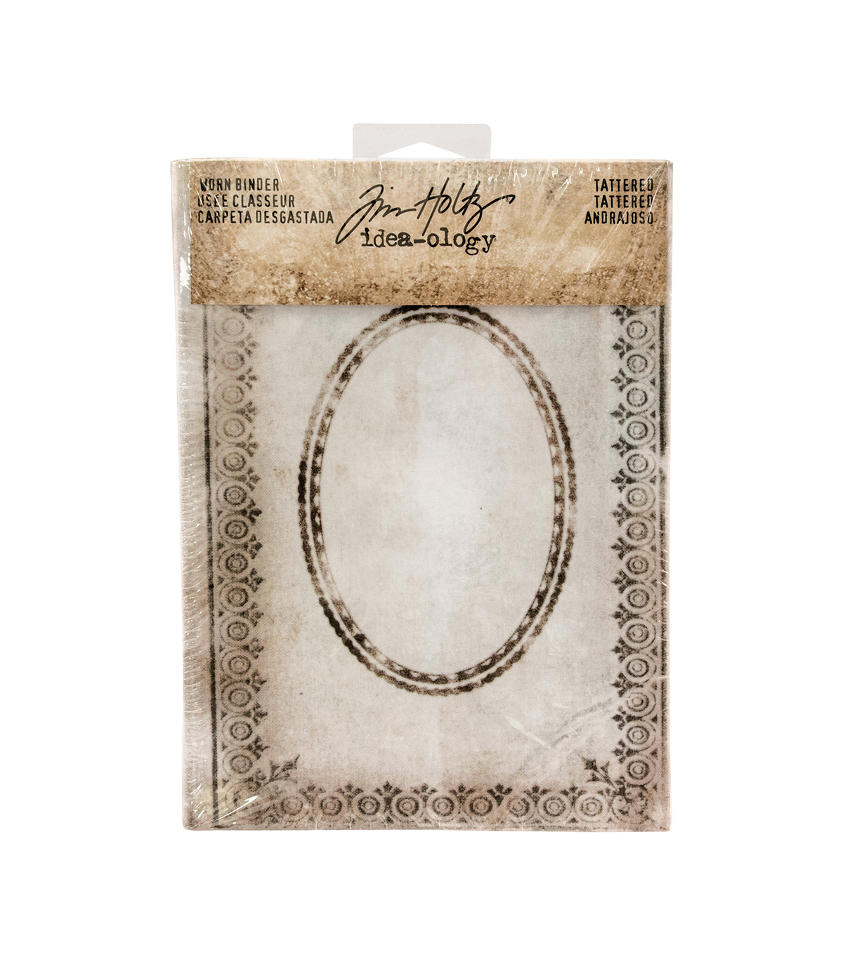 Tim Holtz Idea-ology Tattered Worn Binder