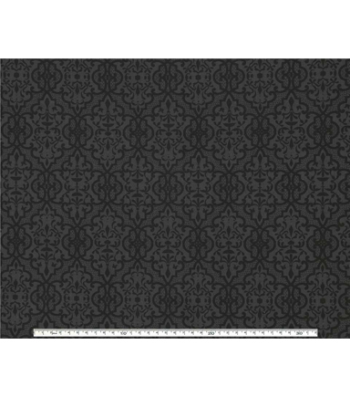 Wide Cotton Quilt Fabric 108\u0022-Lace Black