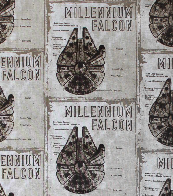 "Star Wars™: The Last Jedi Cotton Fabric 44""-Millennium ..."