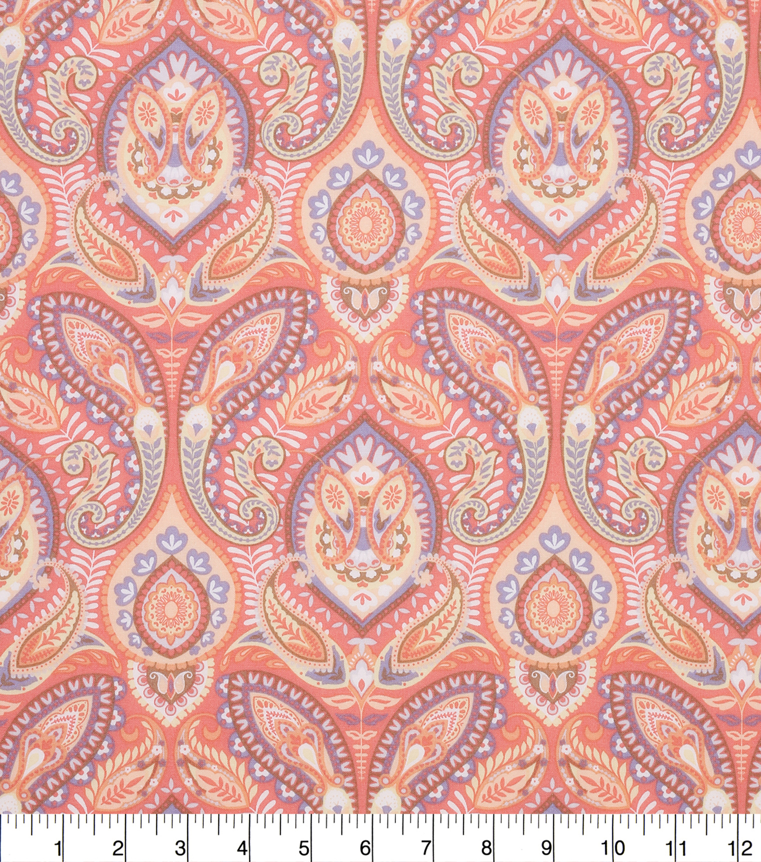 Keepsake Calico Cotton Fabric -Spring Floral Paisley Medallion
