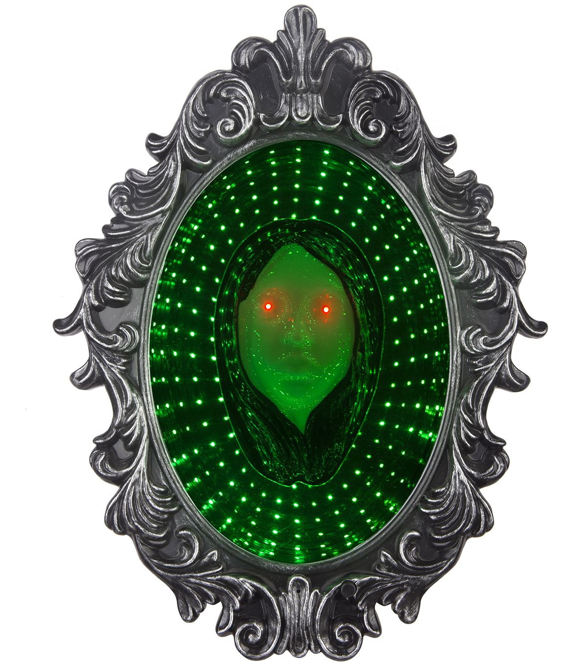 Maker\u0027s Halloween Animated Mirror with Girl