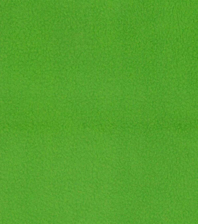 Anti-Pill Fleece Fabric -Solids, Lime