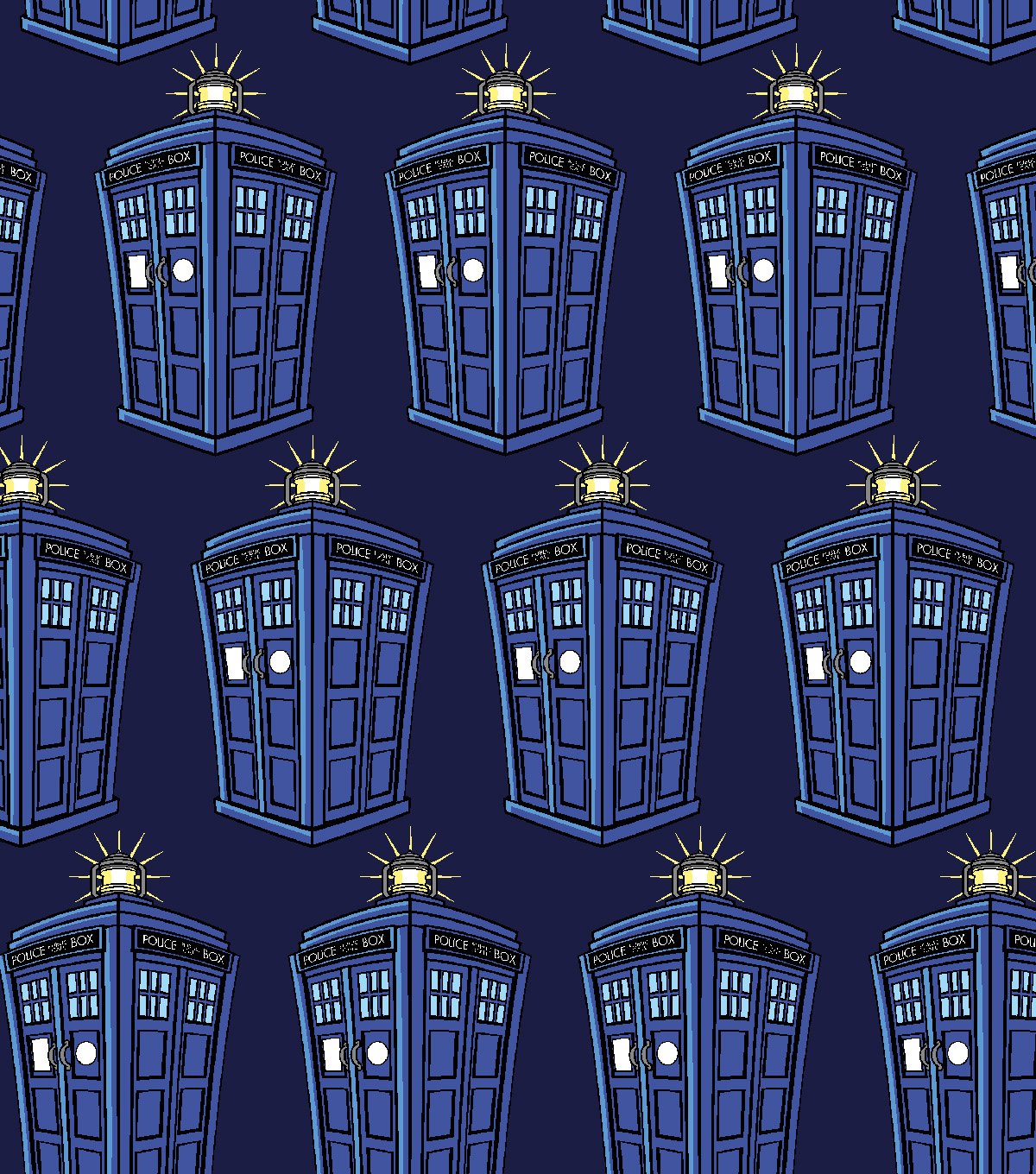 Doctor Who Knit Fabric 59\