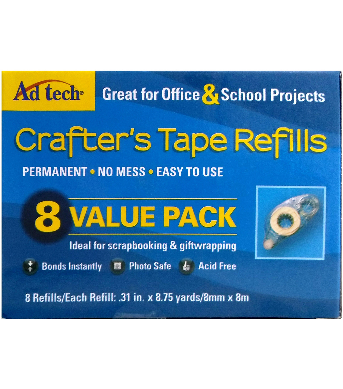 Crafter\u0027s Tape Refills-Value Pack