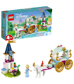 LEGO Disney Princess Cinderella\u0027s Carriage Ride Set
