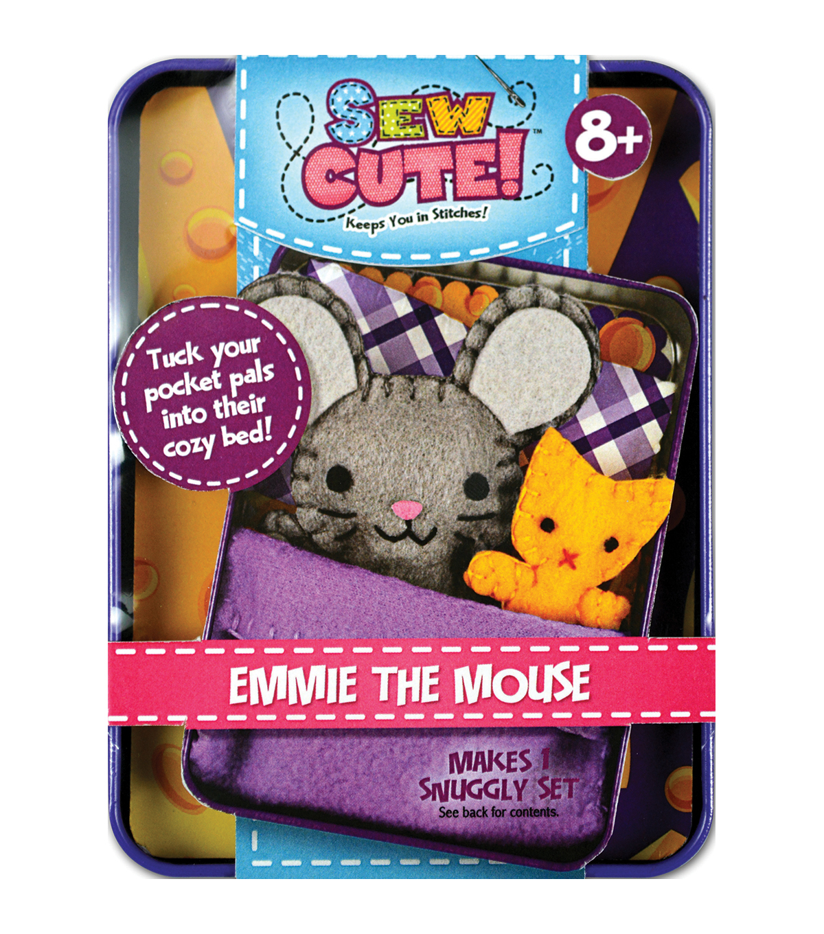 Sew Cute Tin Mouse