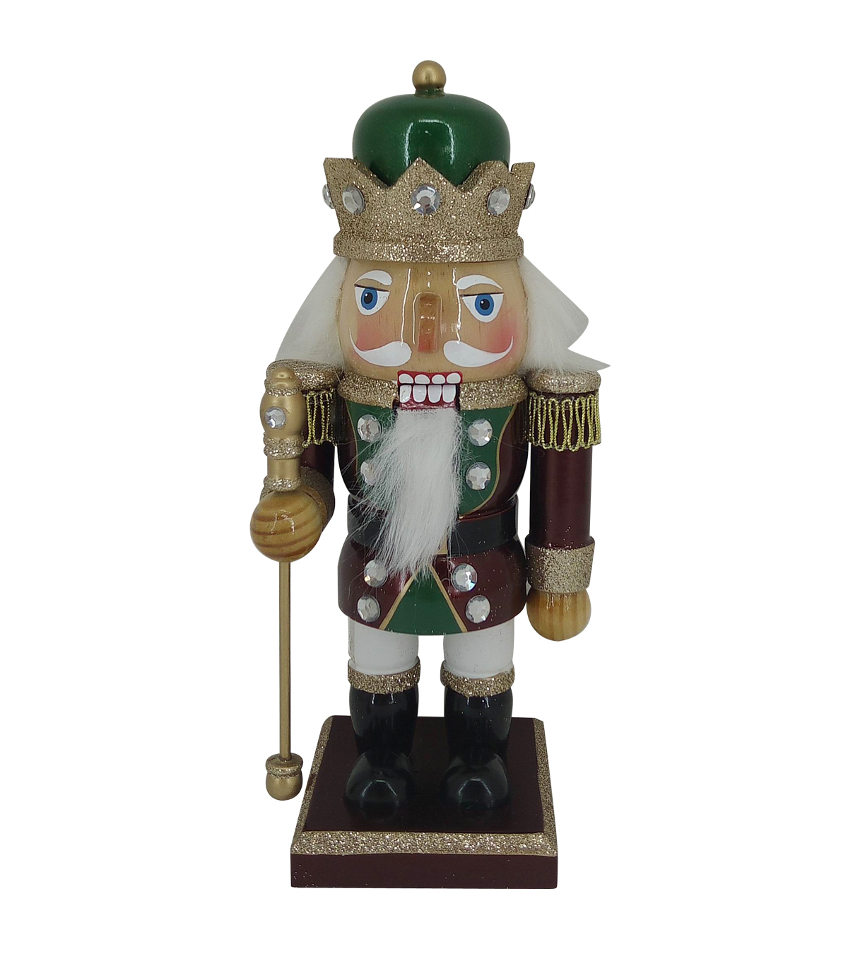 Handmade Holiday Christmas 9\u0027\u0027 King Nutcracker
