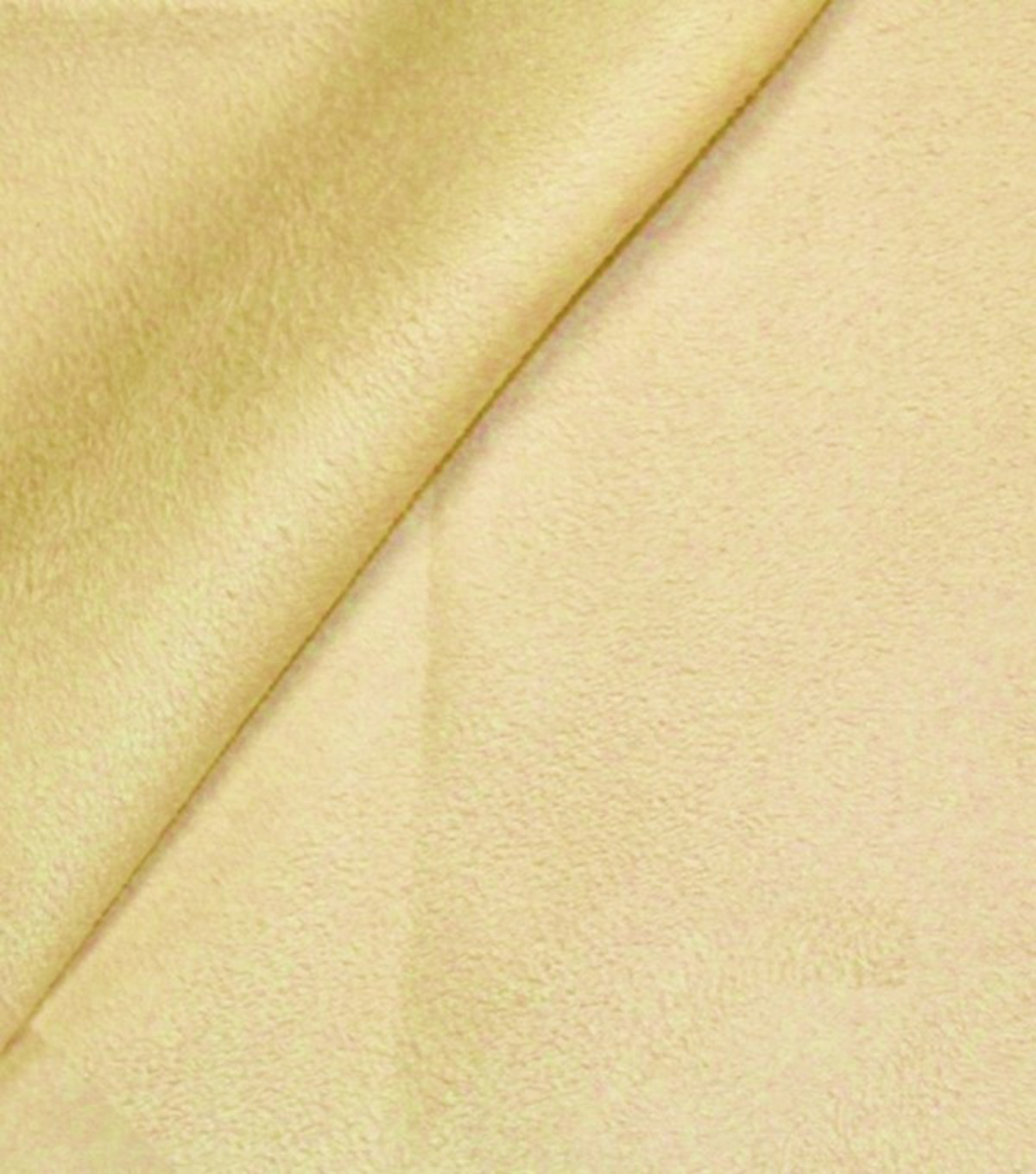 Mardi Gras Plus Brushed Suede Finish Mustard-10yd Bolt