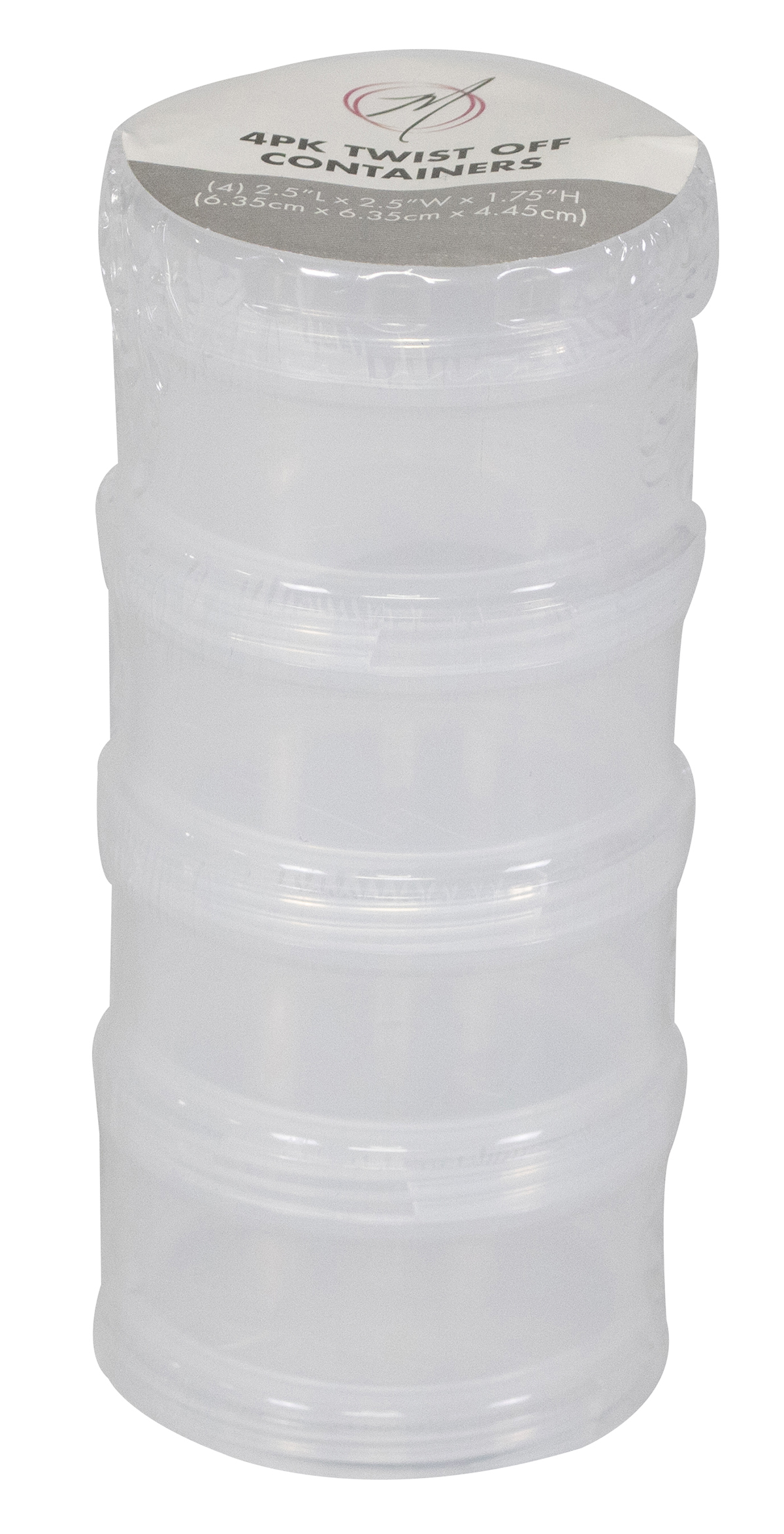 Everything Mary 4 pk Stack & Twist Containers