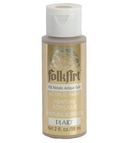 FolkArt 2 fl. oz. Metallic Acrylic Paint
