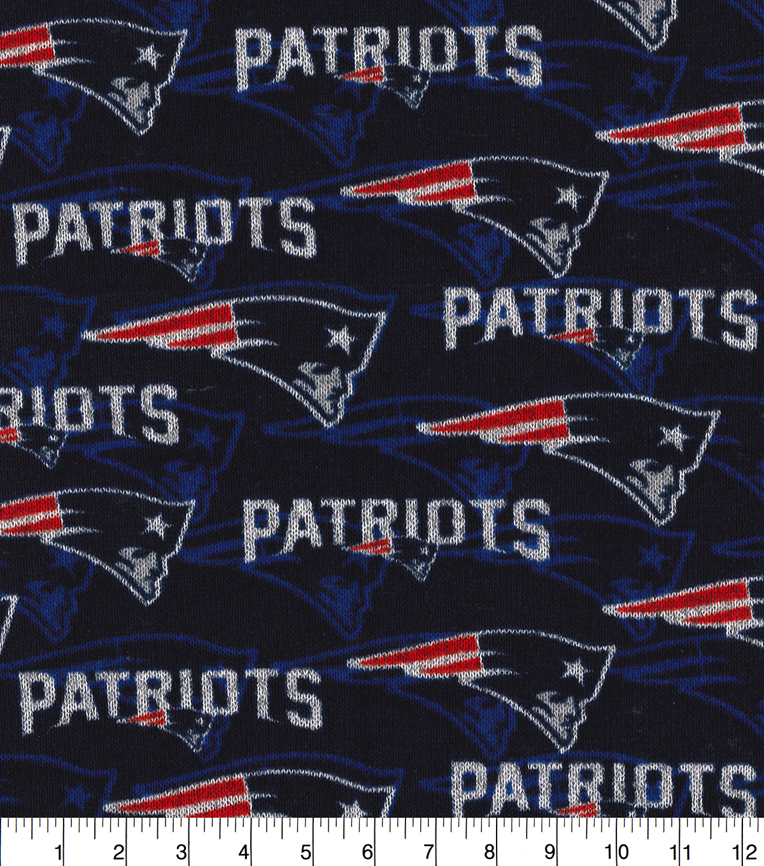 7dc06d56 New England Patriots Fleece Fabric-Sweater