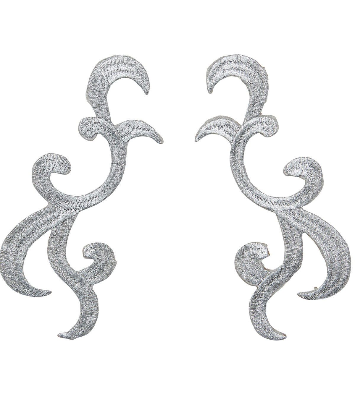 Yaya Han Collection Silver  Swirl Cosplay Applique
