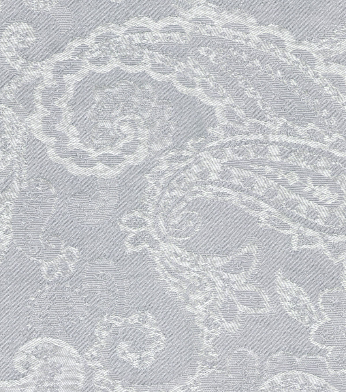 Waverly Upholstery Fabric 13x13\u0022 Swatch-Past Tense Platinum