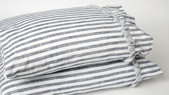 Pillowcase With Ruffles