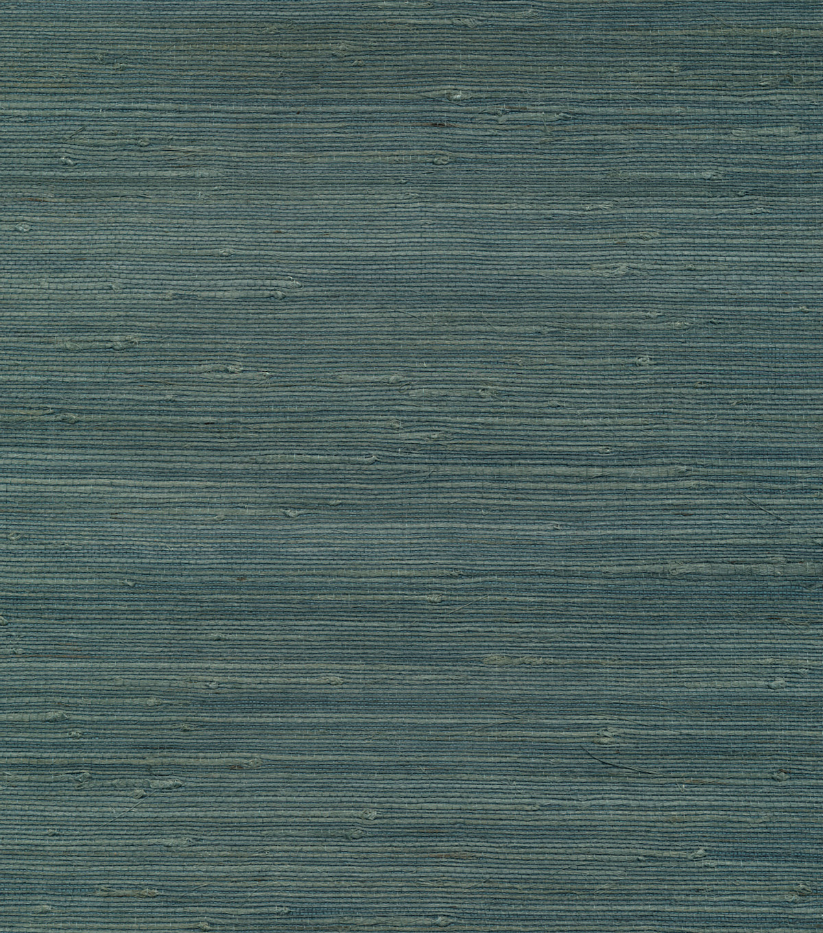 Jurou Blue Grasscloth Wallpaper Sample