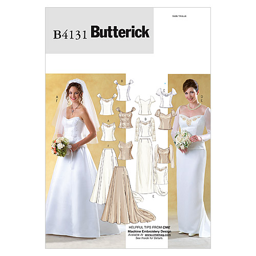 Butterick Misses Bridal-B4131