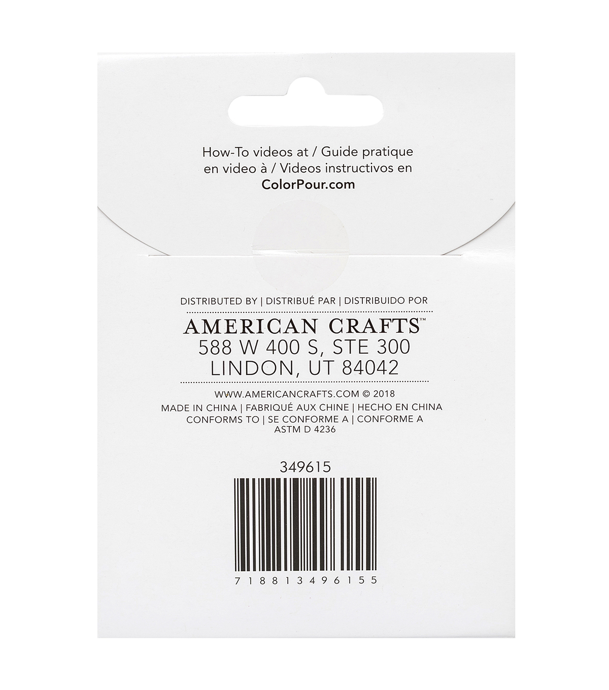 American Crafts Color Pour Setup 8 pk Non-latex Gloves