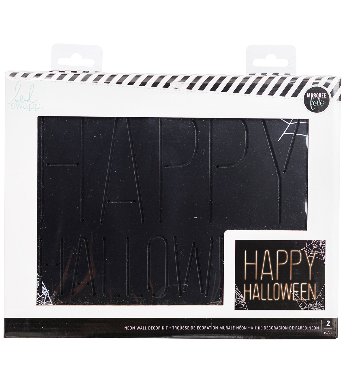 Heidi Swapp Sooky Décor-Neon Happy Halloween
