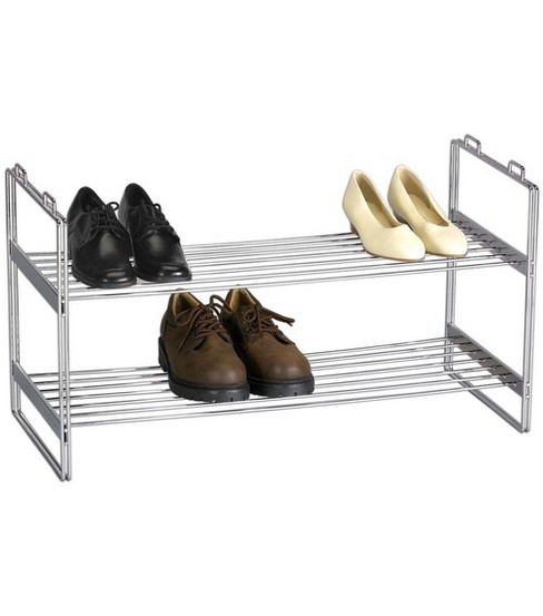 Household Essentials Stackable Shoe Shelf