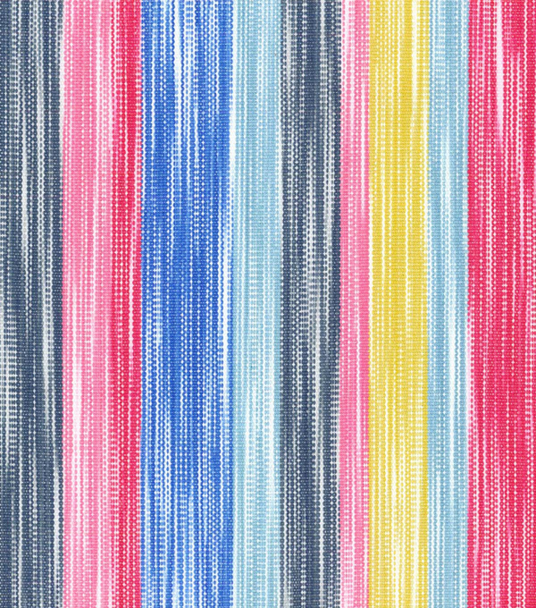 Dena Upholstery 8x8 Fabric Swatch-Painted Lines/Fiesta