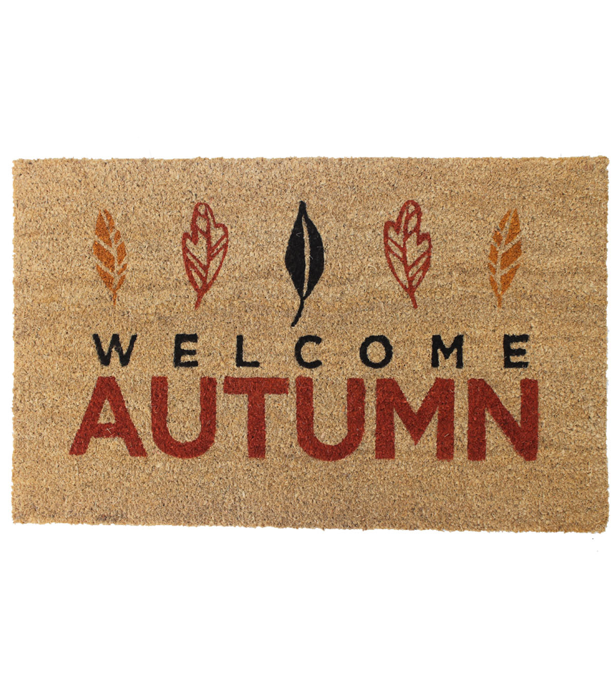Simply Autumn Coir Mat-Welcome Autumn on Natural