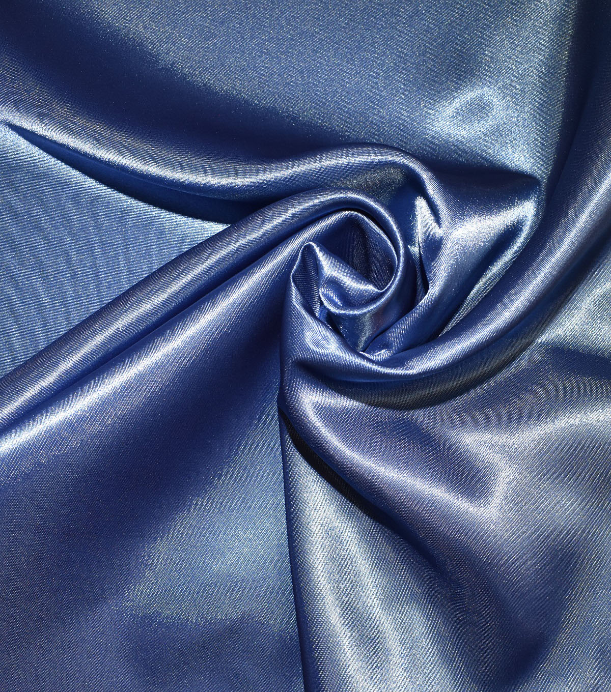 Casa Collection Shiny Satin Fabric, Moonlight Blue