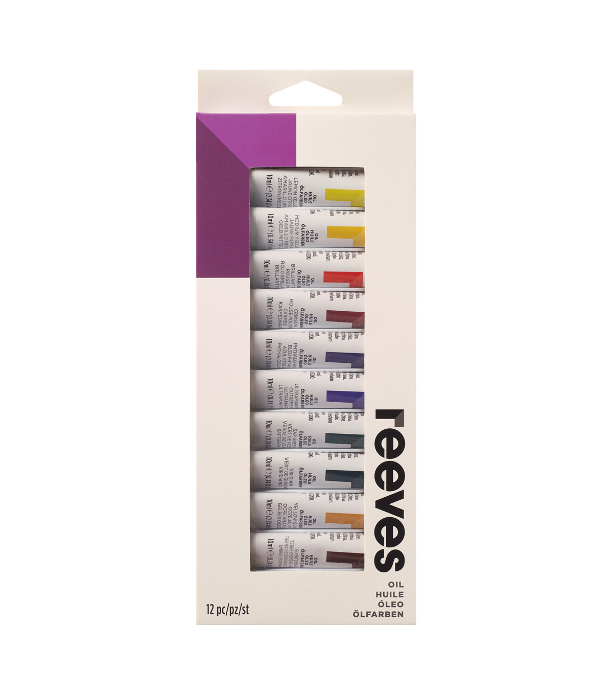 Reeves Oil Paint Set-12Pk