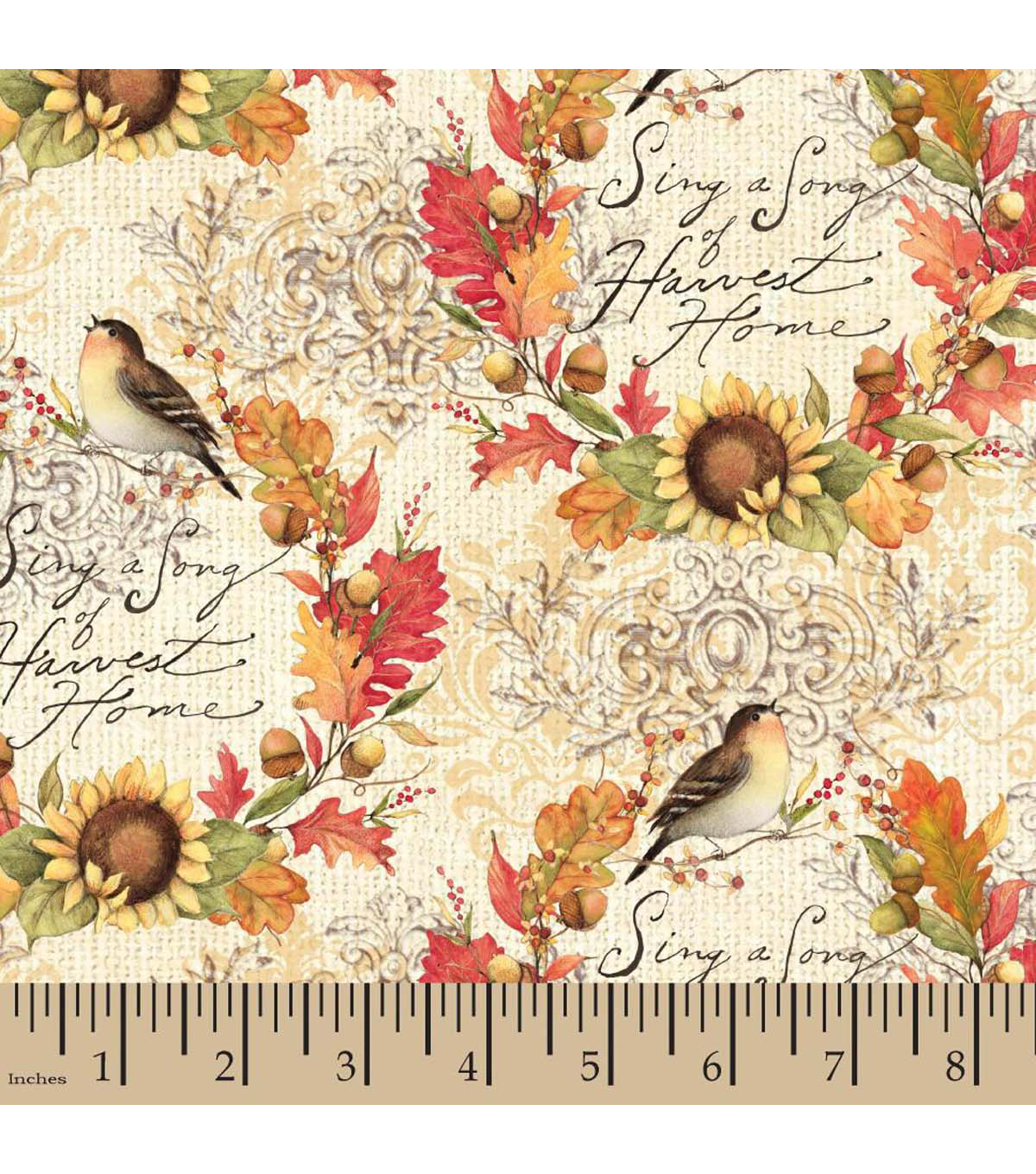 Harvest Cotton Fabric-Susan Winget Sing A Song