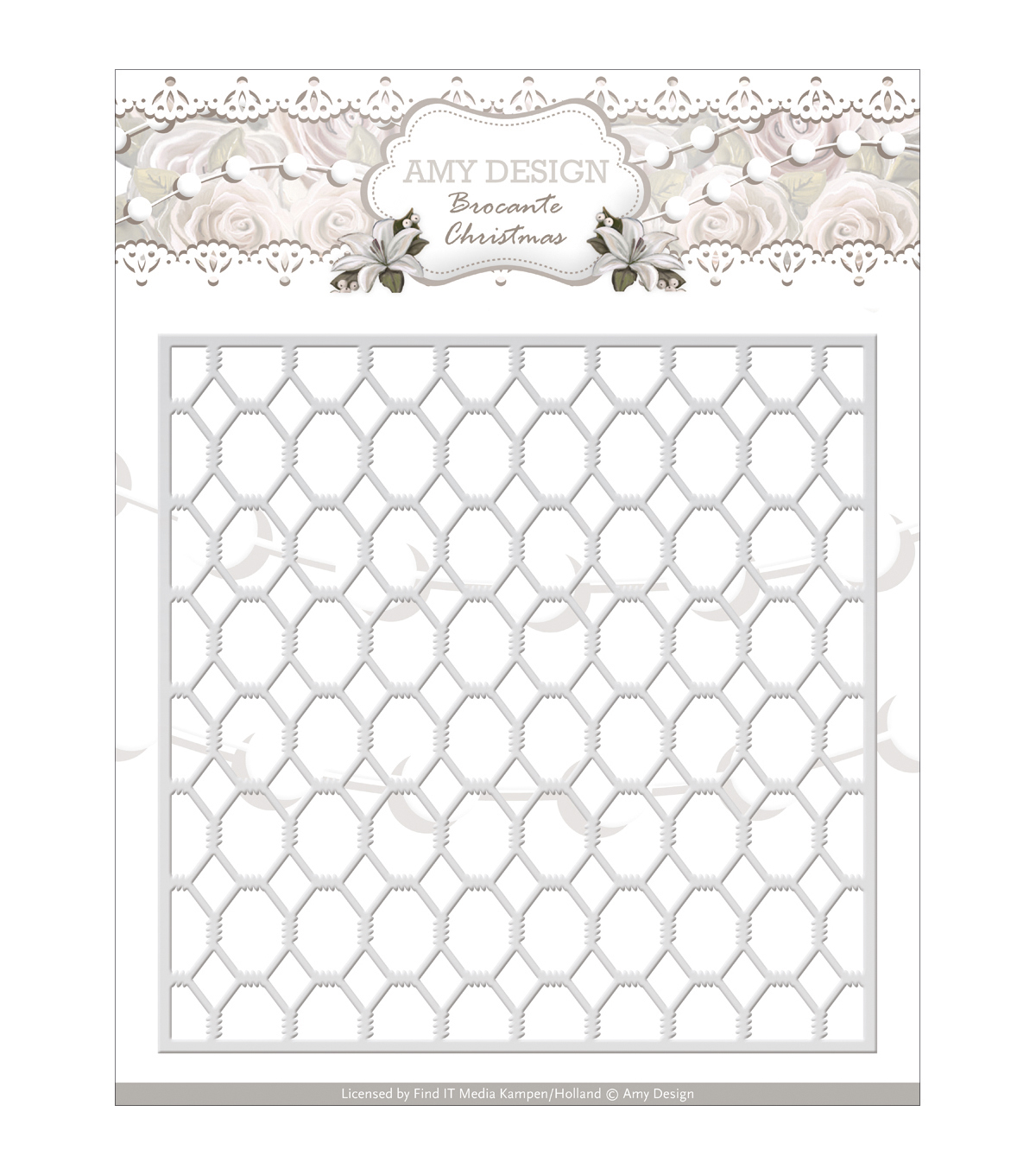 Amy Design Brocante Christmas Die-Wire Frame