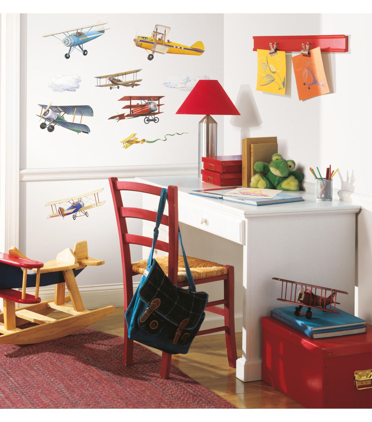 York Wallcoverings Wall Decals-Vintage Planes
