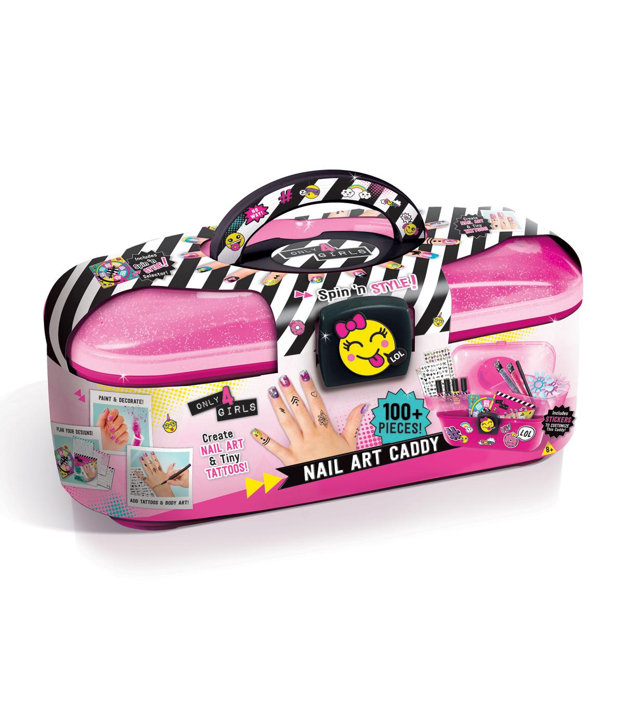 Only 4 Girls Nail Art Caddy Set Joann
