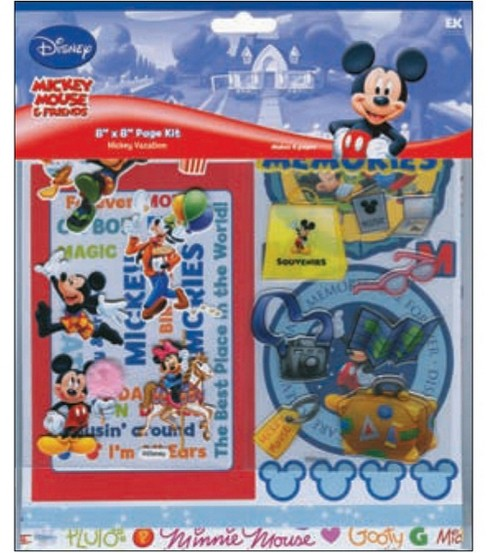 Disney Vacation 8\u0022X8\u0022 Page Kit