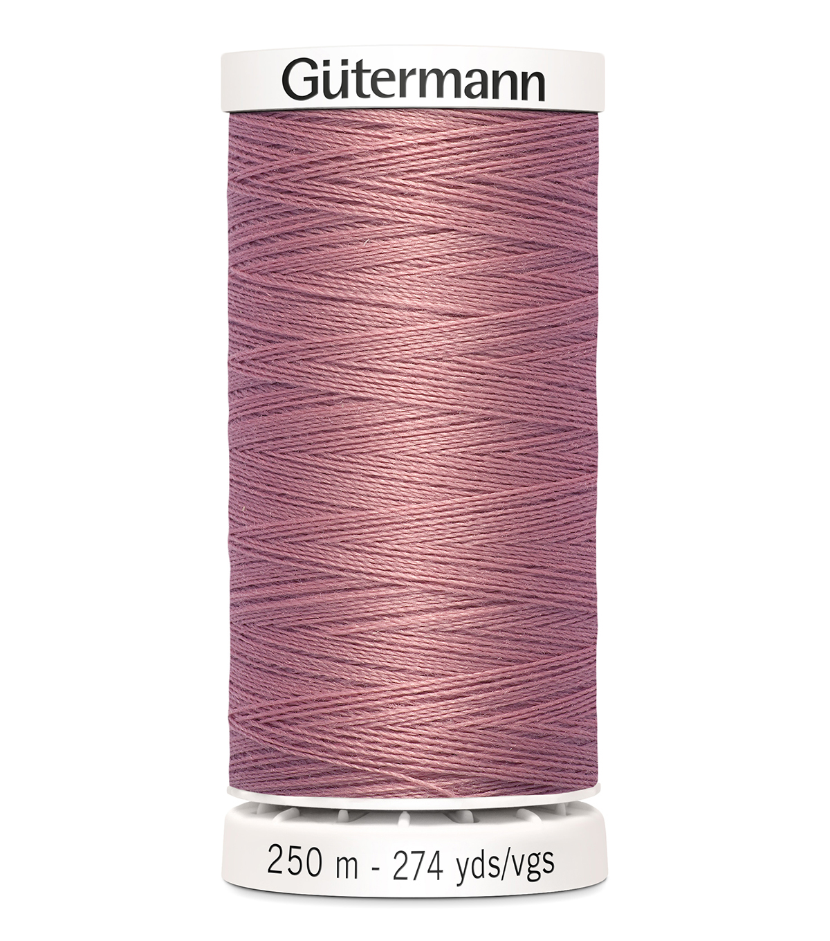 Gutermann Sew-All Thread 273 Yds-(300 & 900 series) Cool Tones , Old Rose #323