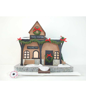 Maker\u0027s Holiday Christmas Train Station