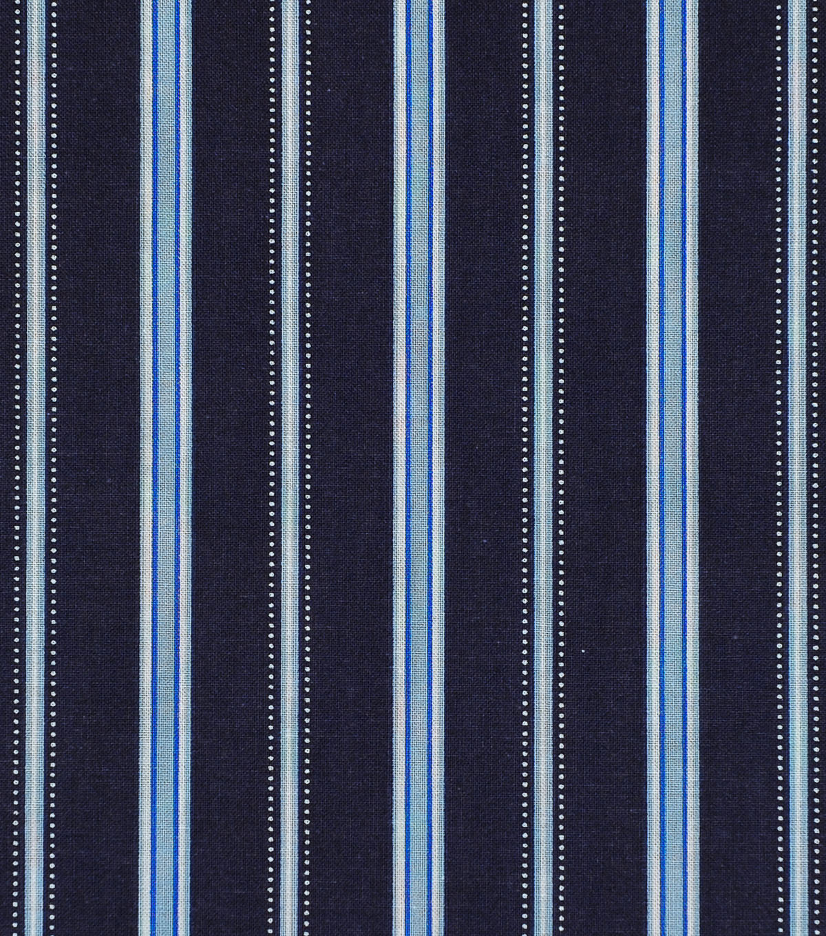 Keepsake Calico Cotton Fabric-Fun Stripes Navy