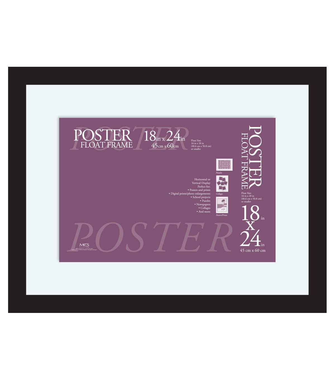 float poster frame 18x24 black joann