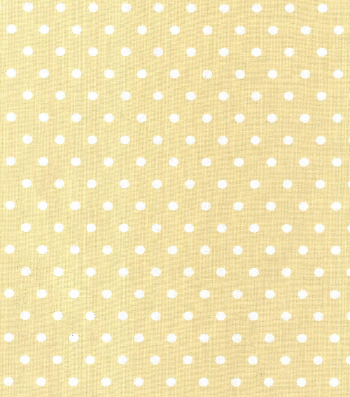 Buttercream™ Olivia Collection Cotton Fabric-Green Dot