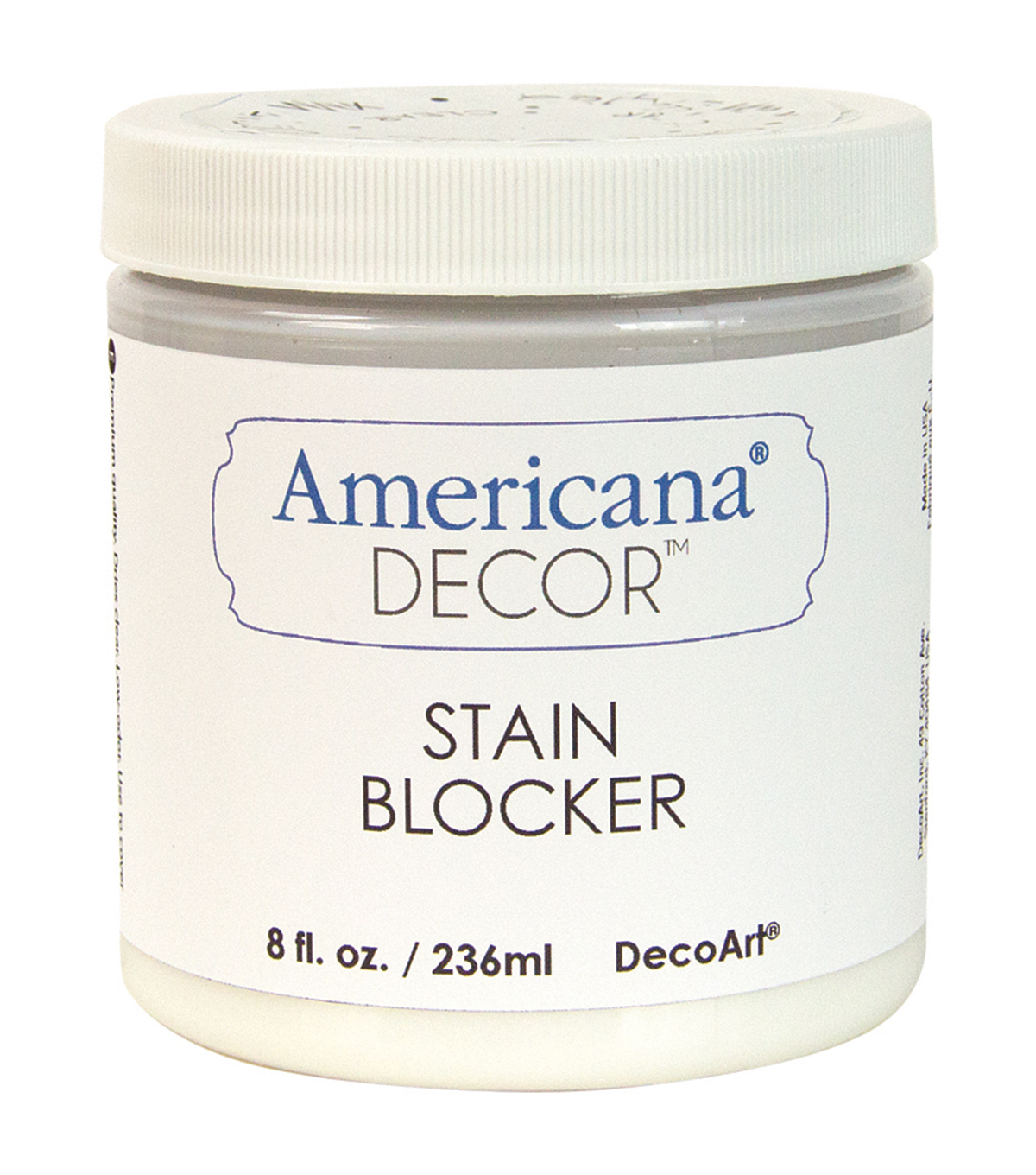 DecoArt Clear - Stain Blocker/Sealer 8oz
