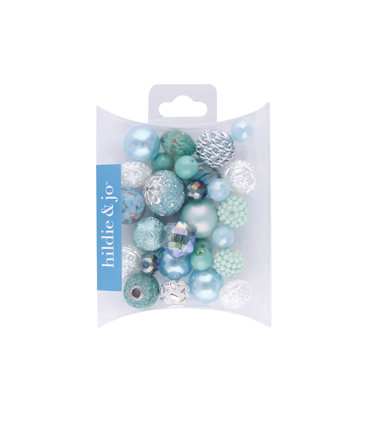 hildie & jo Mix Beads-Turquoise & Green