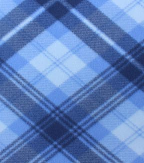 Blizzard Fleece Fabric -Daydream Plaid