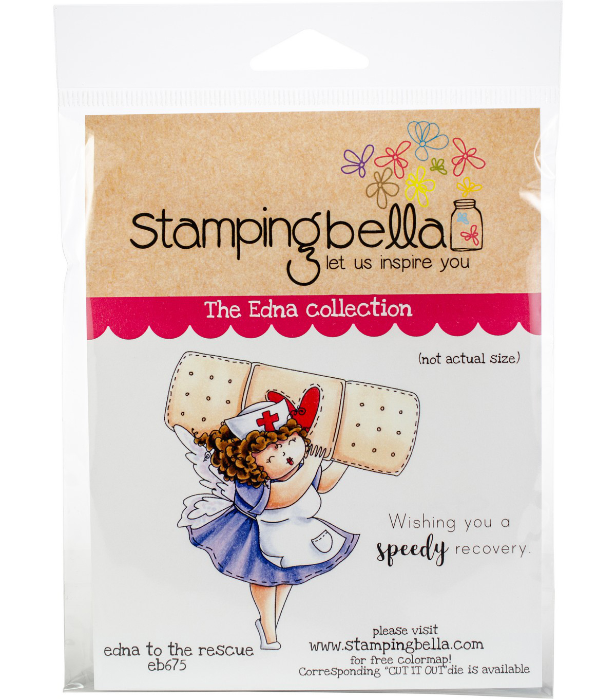 Stamping Bella Cling Stamps-Edna To The Rescue