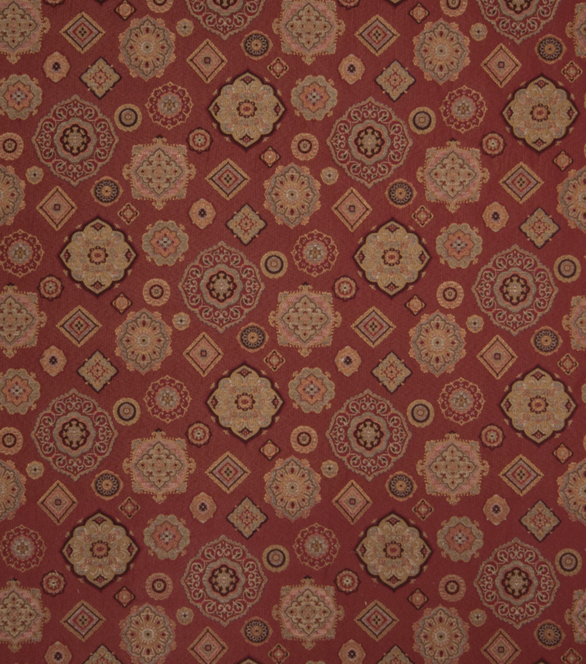 Home Decor 8\u0022x8\u0022 Fabric Swatch-Upholstery Fabric Eaton Square Allow Red
