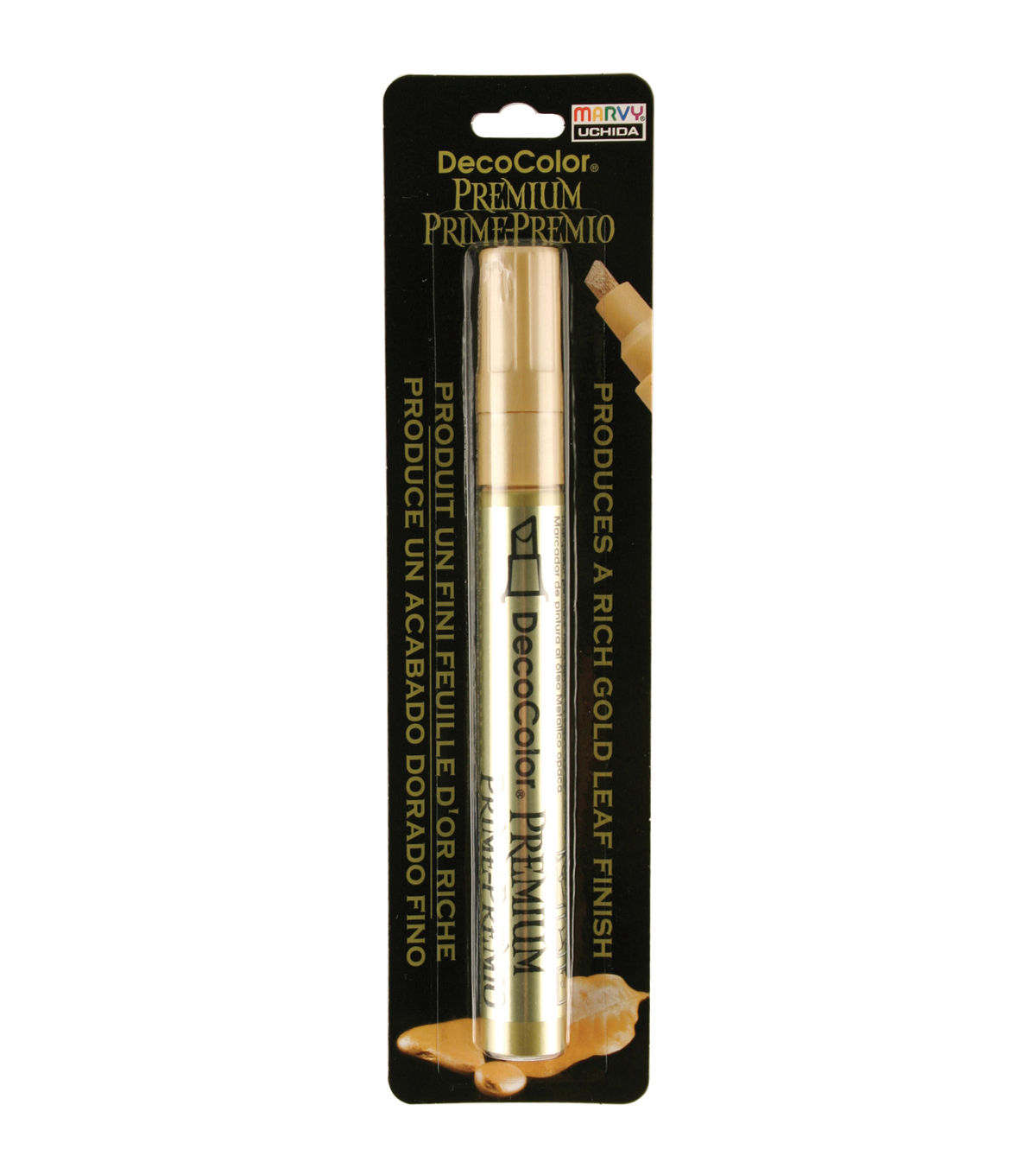Decocolor Premium Fine Tip Paint Marker-gold