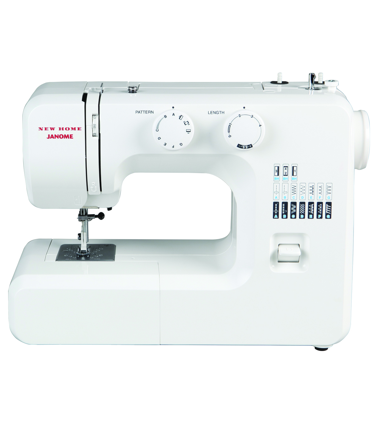Janome 41012 Portable Mechanical Sewing