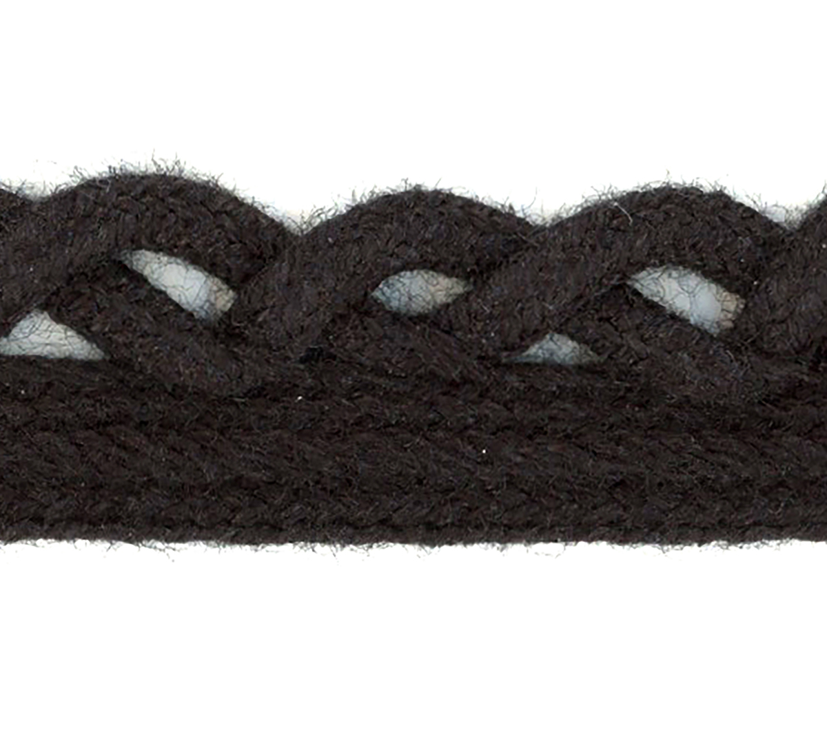 Simplicity Loop Braid Trim 0.5\u0027\u0027-Black