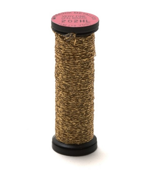 Kreinik Very Fine #4 Metallic Braid 12 Yds